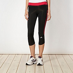 adidas - Pink three quarter capri pants