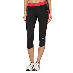 adidas - Black three quarter capri pants