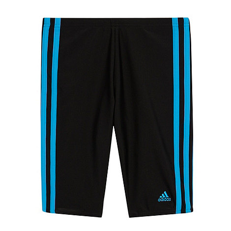 adidas - Boy+s black fitted shorts