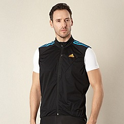 adidas - Black mesh cycling gilet