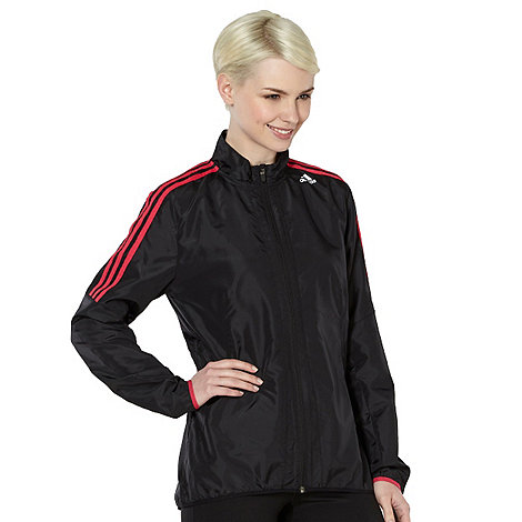 adidas - Black lightweight fitness jacket