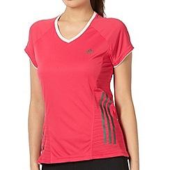 adidas - Pink 'Super Nova' running t-shirt