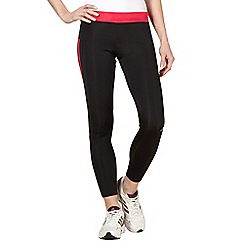 adidas - Black 'Response' tight running trousers