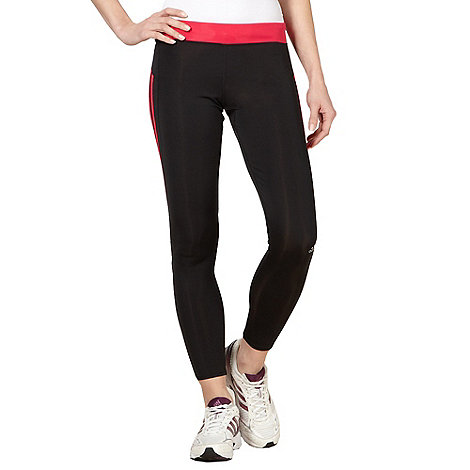 adidas - Black +Response+ tight running trousers