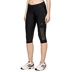 adidas - Black three quarter fitness leggings
