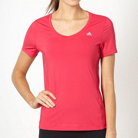adidas - Pink +ClimaLite+ t-shirt