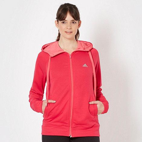 adidas - Pink prime hooded jacket