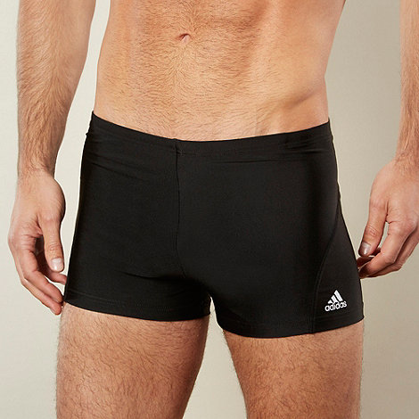 adidas - Black stitch logo trunks