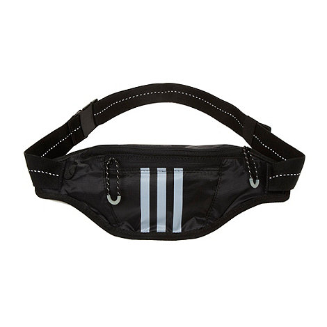 adidas - Black logo waist bag