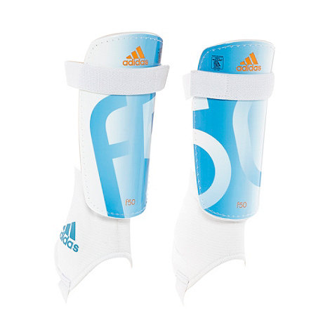 adidas - White +f50+ replique shin pad