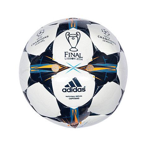 adidas - White +Champion+s League+ football
