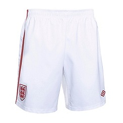 Umbro - Red kids away England football shorts