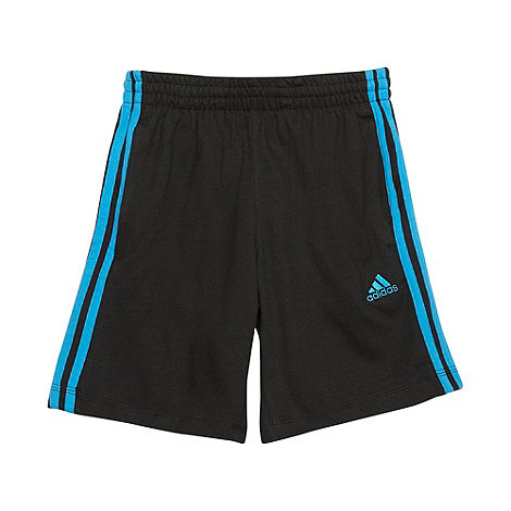 adidas - Boy+s black woven shorts