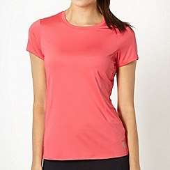 XPG by Jenni Falconer - Pink stitch crew neck t-shirt