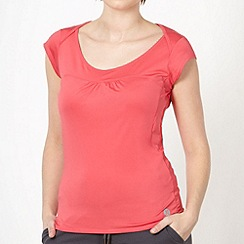 XPG by Jenni Falconer - Coral mesh panelled running t-shirt
