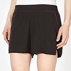 XPG by Jenni Falconer - Black woven running shorts
