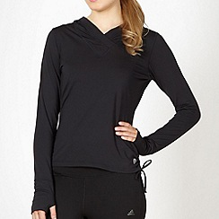 XPG by Jenni Falconer - Black hooded running top