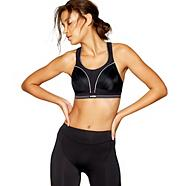 Black ultimate run sports bra
