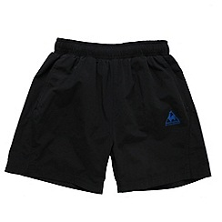 Le Coq Sportif - Black swim shorts