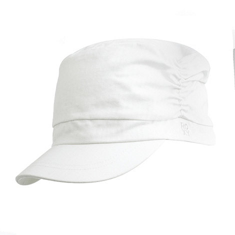 Roxy - White military cap