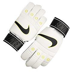 Nike - White 'Tiempo' match goalie gloves