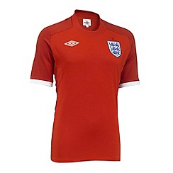 Umbro - Red womens away England football shirt