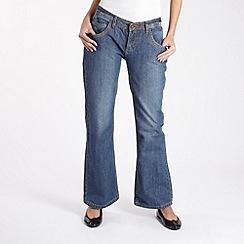 Animal - Blue 'Songbird' bootcut jeans