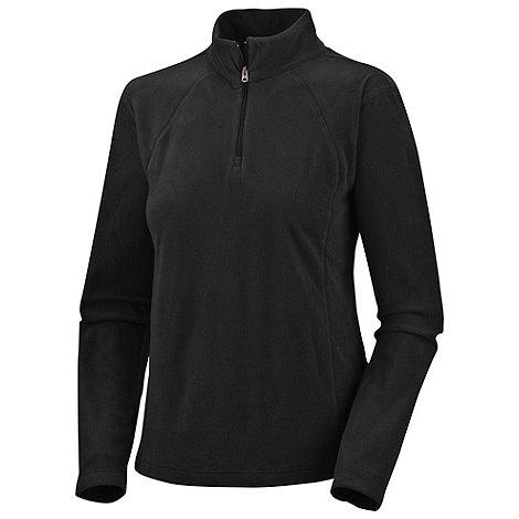 Columbia - Black Glacial lightweight fleece zip top