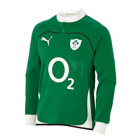 Puma - Green Irish Rugby Football Union top