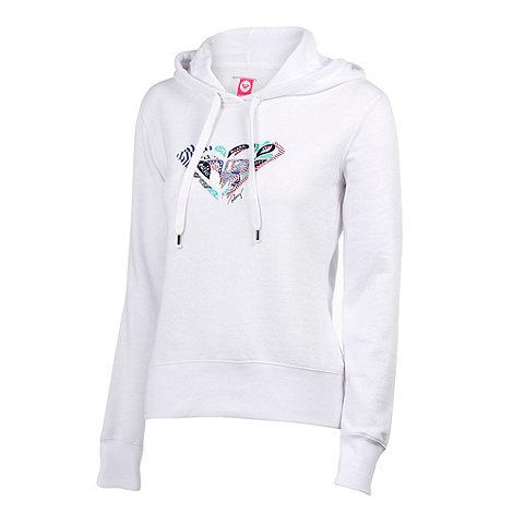 Roxy - White jam hoodie