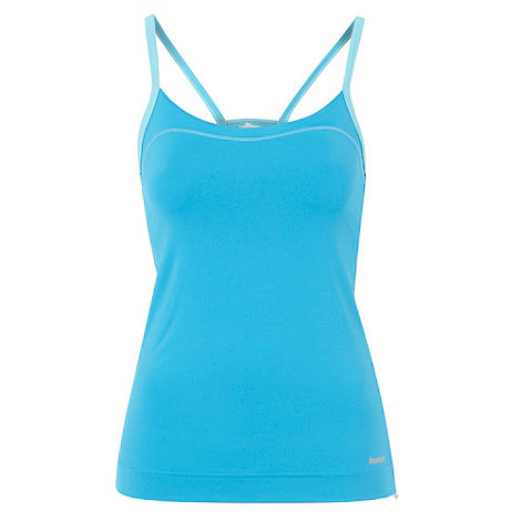 Reebok - Blue sports vest top