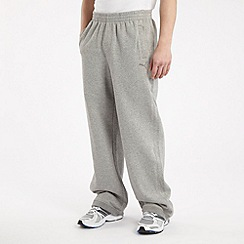 Puma - Grey sweat jogging bottoms