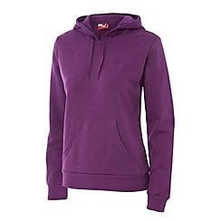 Puma - Purple essential hoodie
