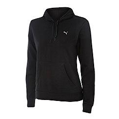 Puma - Black essential hoodie