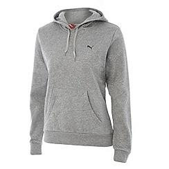 Puma - Grey essential hoodie
