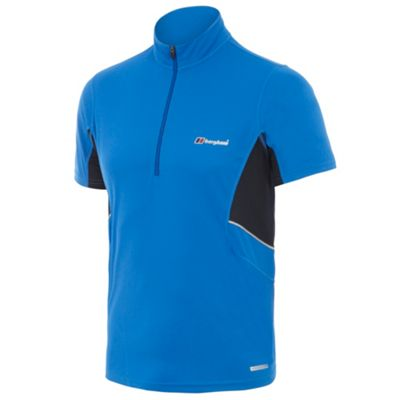 Blue active base layer t-shirt