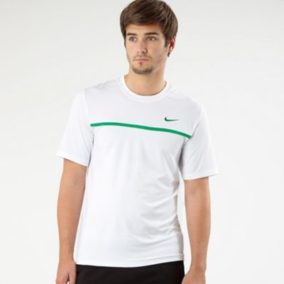 White Challenger Crew Neck T-shirt