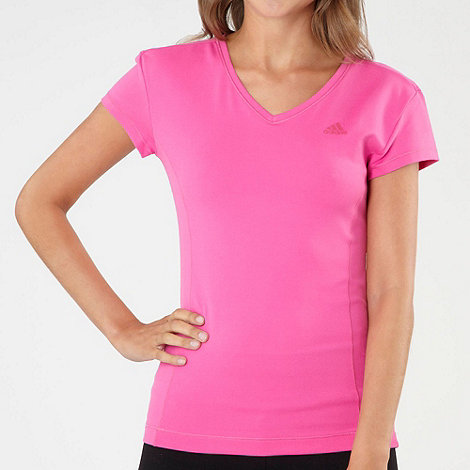 adidas - Pink multifunctional essentials t-shirt