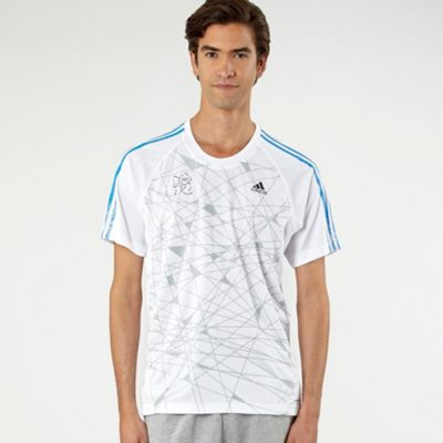 White London 2012 panelled t-shirt