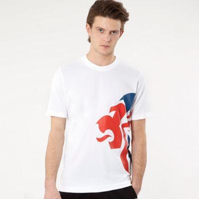 White Team GB logo t-shirt