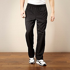 Nike - Black Dri-FIT stretch woven trousers