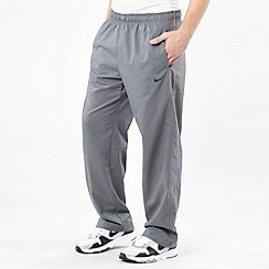 Nike - Grey Dri-Fit stretch woven trousers
