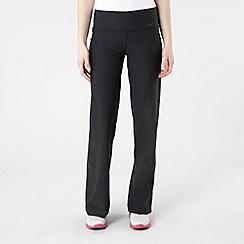 Nike - Black straight leg jogging bottoms