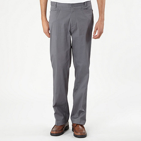 Nike Golf - Grey flat front golf trousers