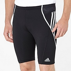 adidas - Black running response tight shorts