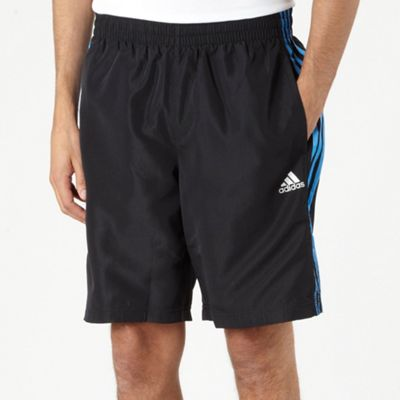 Black Colour Flash Sports Shorts