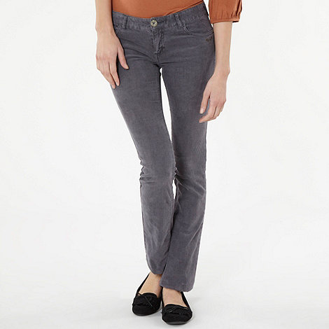 Roxy - Grey cord trousers