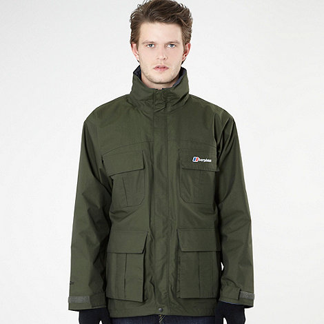 Berghaus - Dark green parka shell jacket