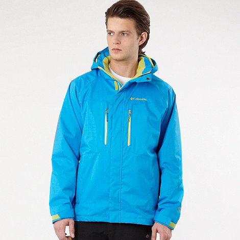 Columbia - Blue +Free fall II+ parka jacket