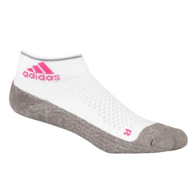 White Running Ankle Socks